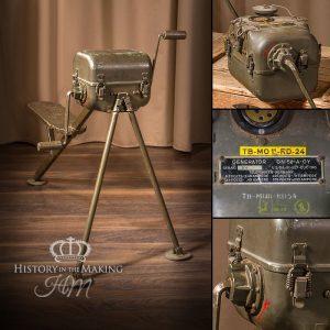 American WW2 Field Generator-hand crank