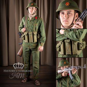 North Viet Nam Army Soldier - Junior NCO - AK47