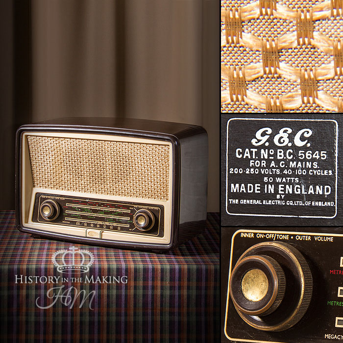 1950 GEC Radio - History in the Making