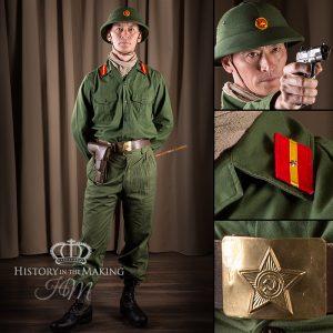 North Viet Nam Army - Officer - TT33 Pistol