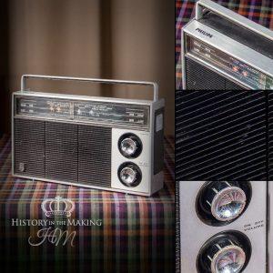 1970 Phillips Transistor Radio