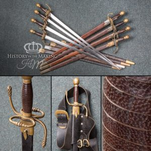 Tudor Armoury Sword - With scabbard - Steel Blade