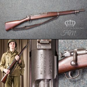 live firing American Remington Springfield Rifle for hire