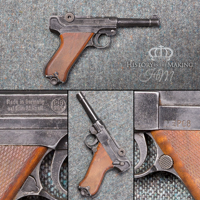 german P08 Luger automatic pistol
