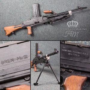British L4 A1 Light Machine Gun - 7.62 cal - Live Firing
