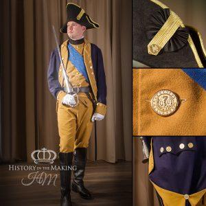 American Infantry Officer, 1776-1783
