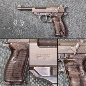 German Walther P38 Automatic Pistol - 9mm cal - Live Firing