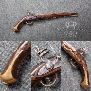 Prussian 1731 Long Dragoon Flintlock Pistol - Live Firing