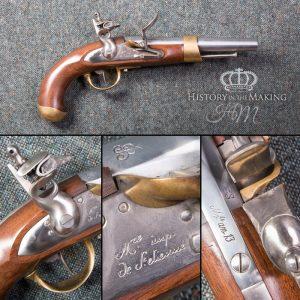 French Cavalry Pistol - Live Firing