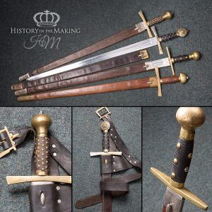 Medieval Heavy Broadswords - Dural Blades - with scabbards
