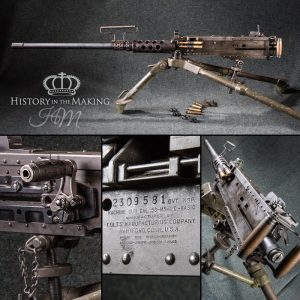 American Browning .50 cal heavy Machine Gun - Live Firing