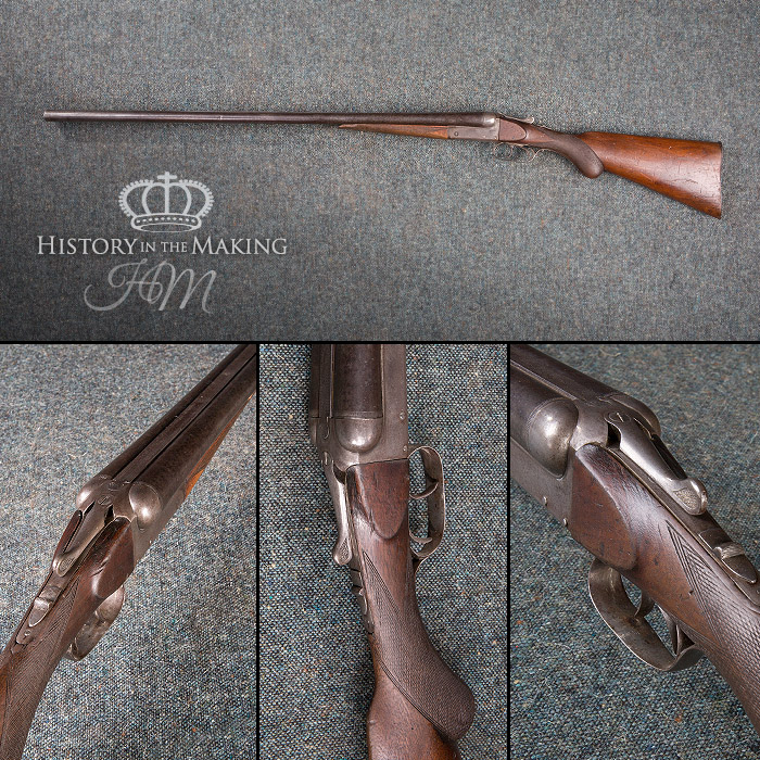 1940 shot gun, deactivated, 12bore,