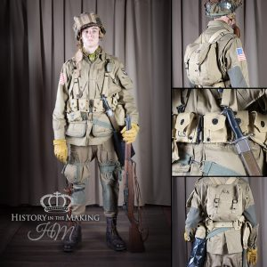 American Paratrooper-101 AB Div - Private - Normandy
