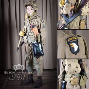American Paratrooper- 101AB Div- Sergeant - Normandy 1944