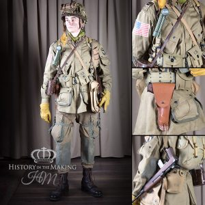 American 101AB Div - Officer - Normandy 1944