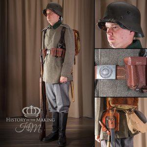 WW1 German Basic Uniform 1918 German Infantry Uniform, late war 1916-1918