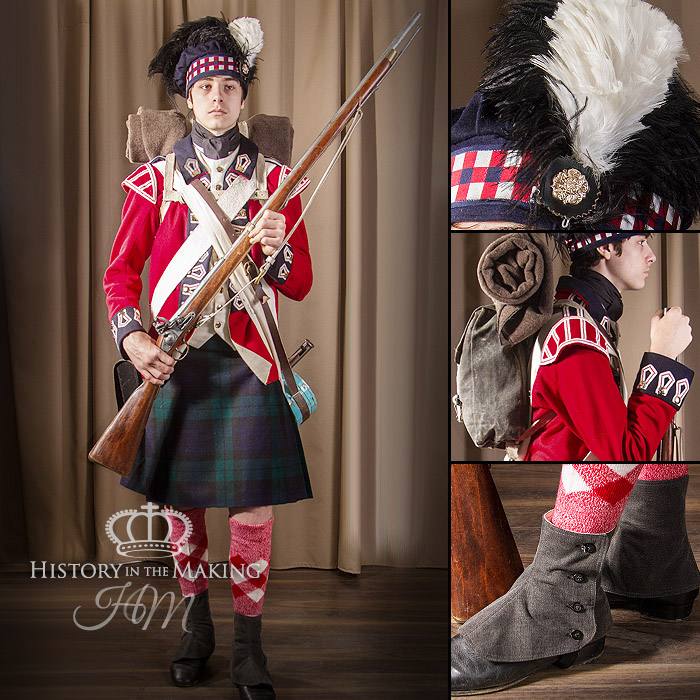 British 42nd Highland Infantry-1776-1783 - History in the Making
