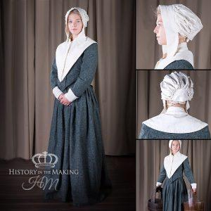 17c Puritan Ladies Costume