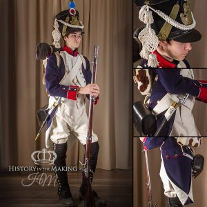 French Line Infantry, Fusalier in full dress, 1806