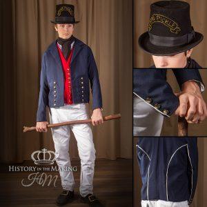Bosun's Mate Uniform , 1806, Trafalgar. Complete uniform for hire