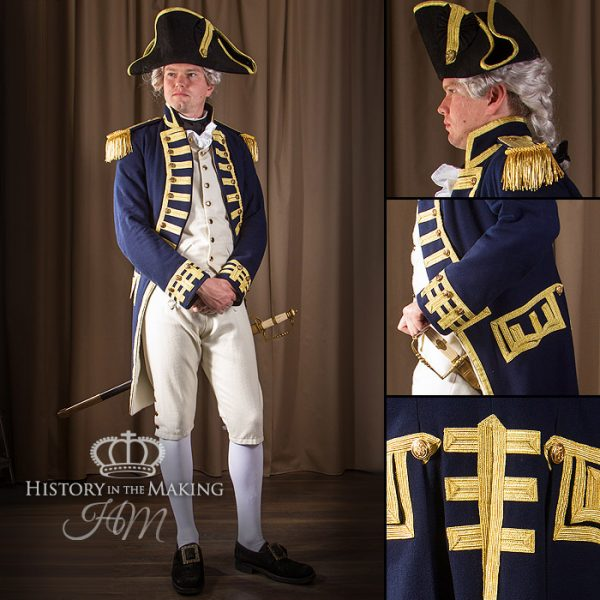 Uniform hire, Napoleonic Wars, royal navy, battle of trafalgar, admiral collingwood, 1806, has victory, full uniform for hire