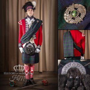42nd Highland Regiment, Black Watch, ceremonial dress 1812