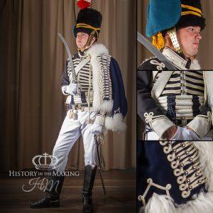 British 18th Hussar, Full dress, 1806-1815