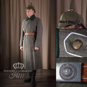 WW1 German Infantry, Winter dress 1914