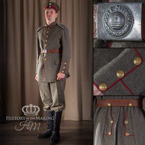 WW1 German Infantry, basic uniform 1914