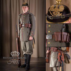 WW1 German Infantry, Full marching order 1914
