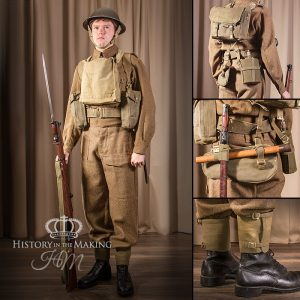 British Infantry- Full Combat Dress- 1939