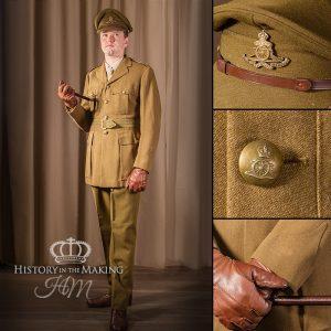 British Royal Artillery - Captain - Basic Uniform
