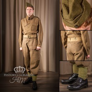 British Infantry- Basic Uniform- 1939-1945