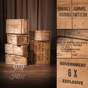 American Small Arms Ammunition Crates - Post War- Blank-Empty