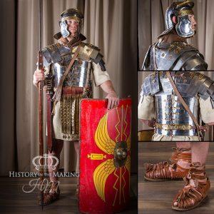 Roman Legionary, 1st-2nd Century AD, full battle or parade order