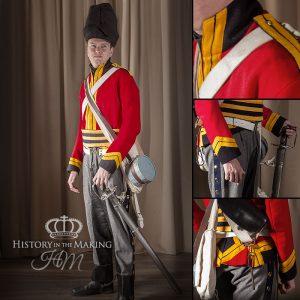 British 2nd Heavy Dragoon, Scots Greys, Campaign dress, 1812-1815