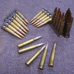 British 303cal Rifle Charger Clips - Inert