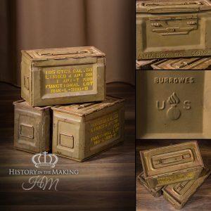 Ammunition Tins and Crates