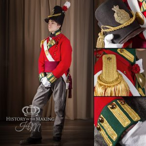 69th Foot (South Lincolnshire) Officer-Centre Company-campaign dress 1812-1815