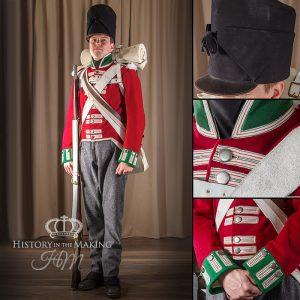 69th Foot (South Lincolnshire) Private Centre Company 1812-1815