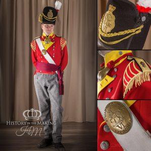 6th Foot ( Warwickshire ) Officer - Grenadier Company 1812-1815