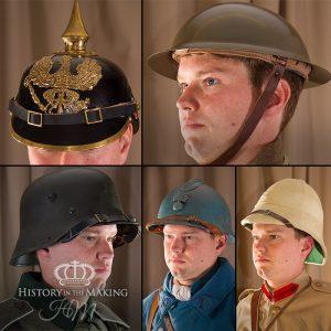 WW1 Steel Helmets