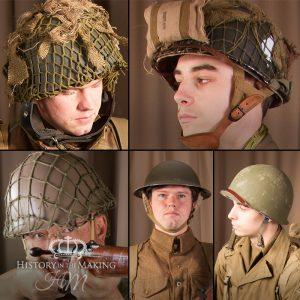 WW2 Steel Helmets