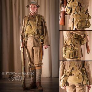 British Infantry, Full Combat Dress, 1918