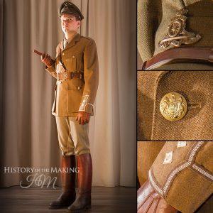 British Officer, Royal Artillery, Riding dress 1914-1918