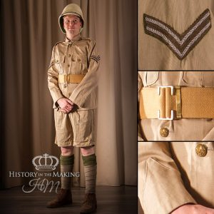 British Infantry, Tropical Dress, Corporal, 1914-1918