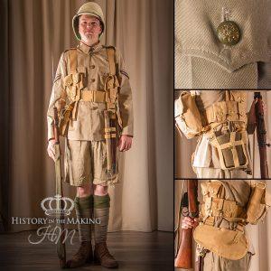 British Infantry, Tropical Dress, 1914-1918