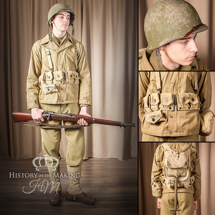 World War 2 American Uniforms (1941-1945) - History in the ... Army Special Forces Weapons