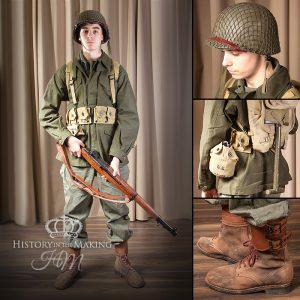 American Infantry- M1943 Field uniform
