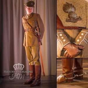Officer, Royal Artillery, Captain 1914-1918